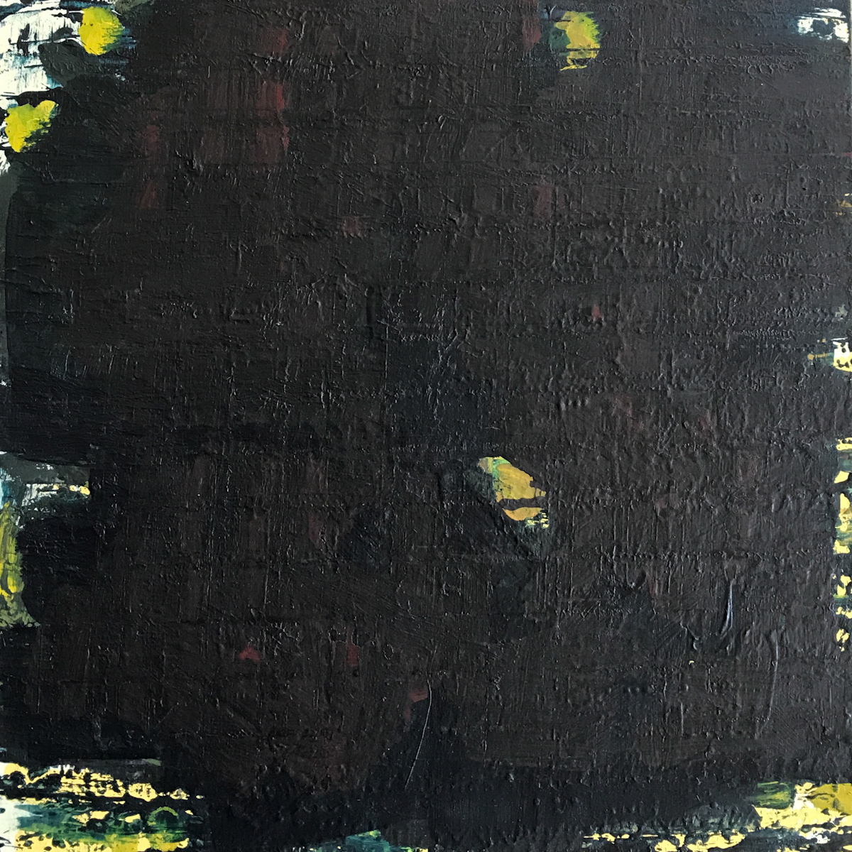 Night Series Acrylic on Board 01 8x8