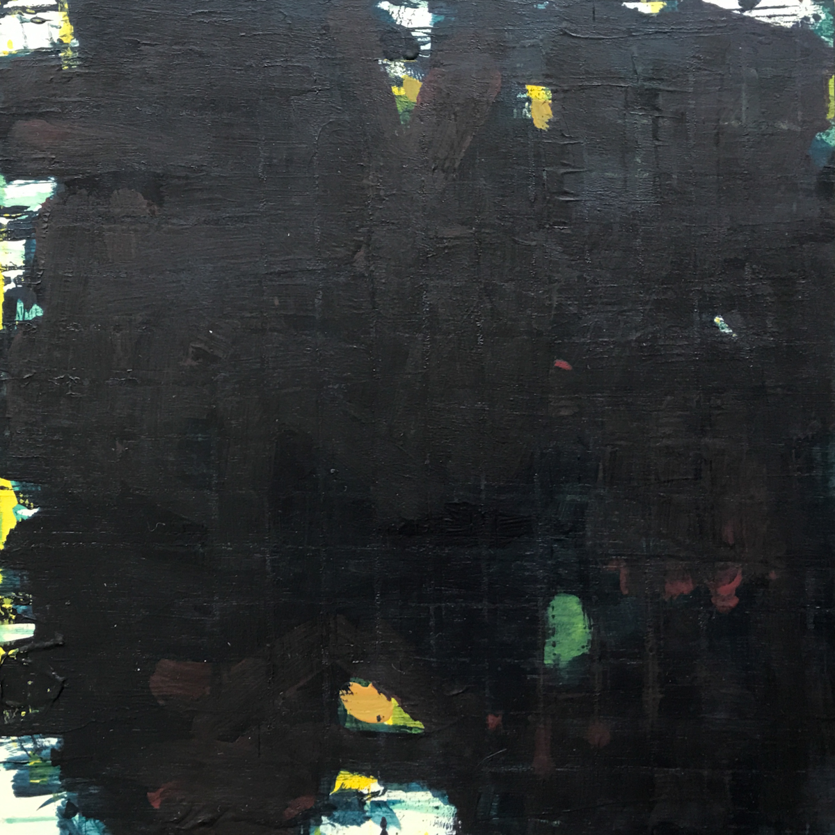 Night Series Acrylic on Board 02 8x8