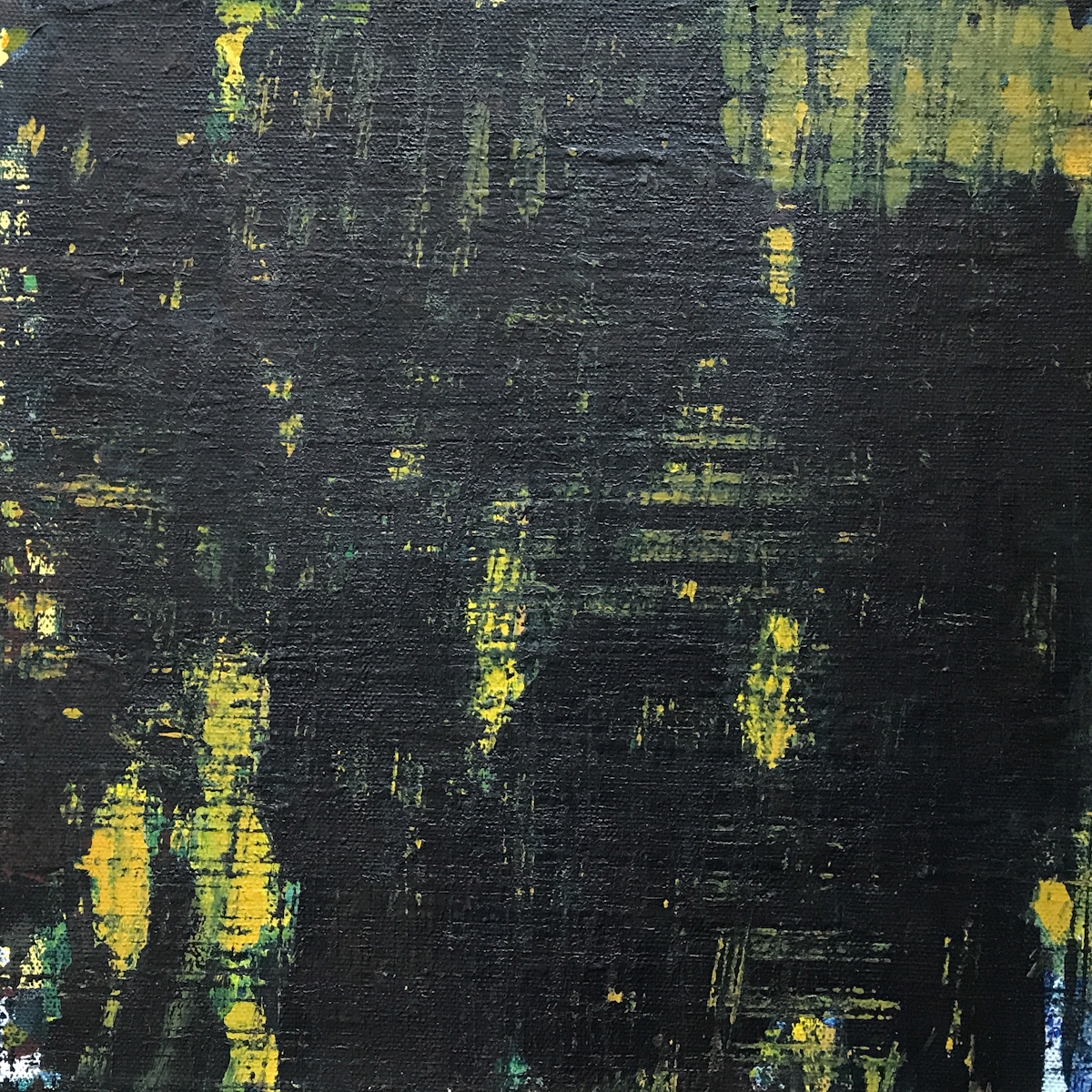 Night Series Acrylic on Canvas 05 12x12