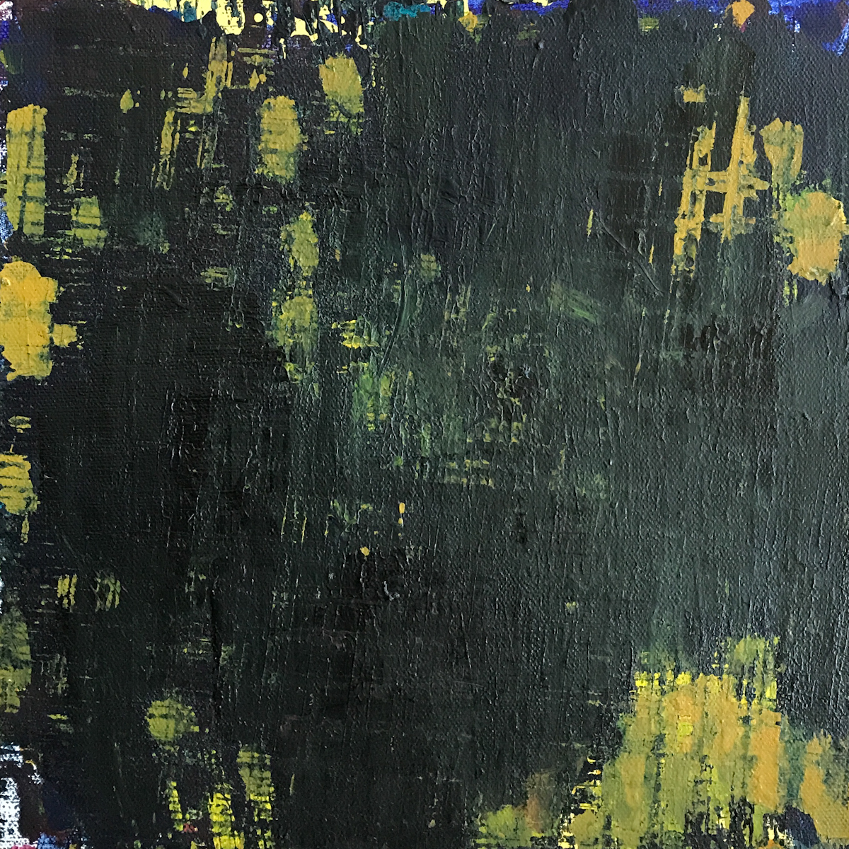 Night Series Acrylic on Canvas 06 12x12