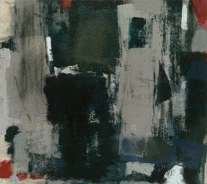 Retreat Series-1-16x18-Acylic and Charcoal on Canvas-2011