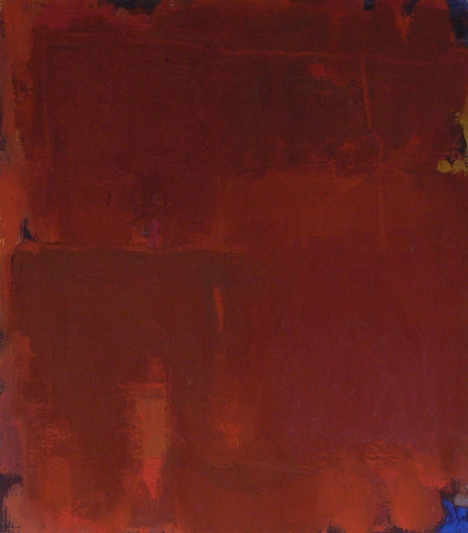 untitled-red-oil-on-canvas-18x16-2009